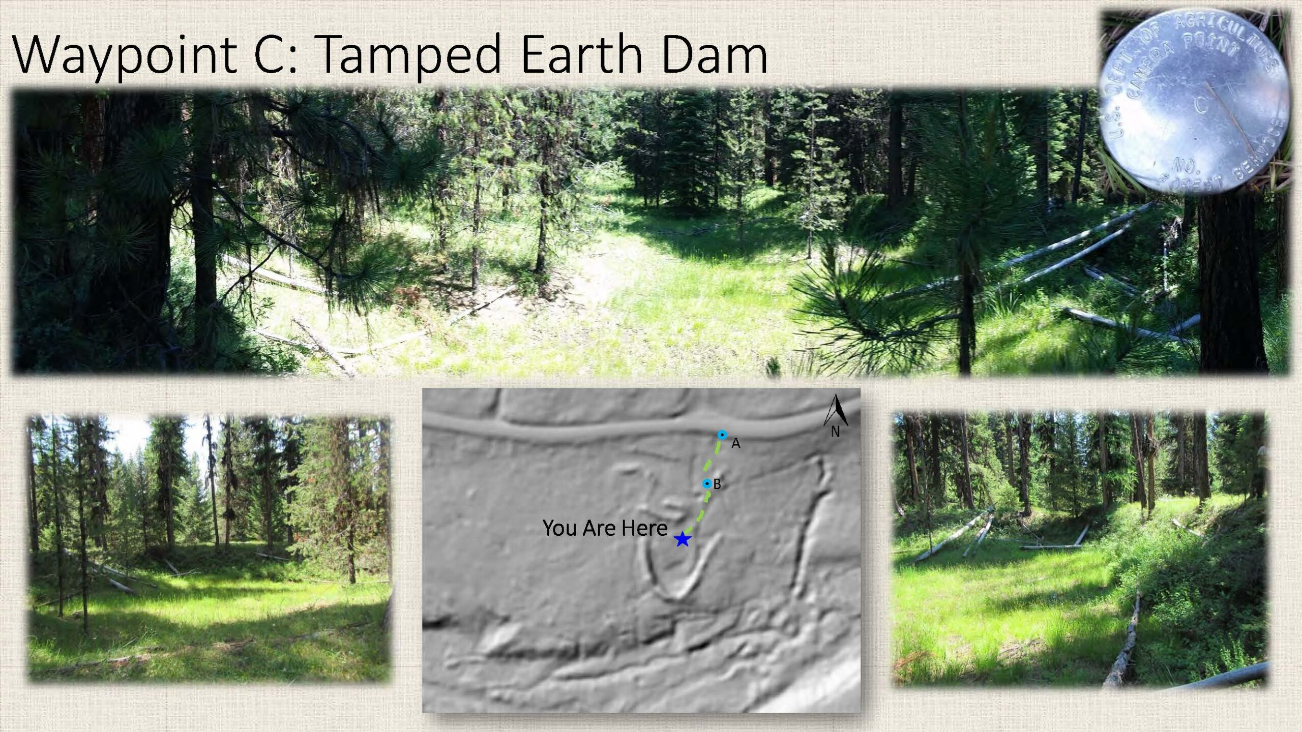 Waypoint C: Tamped Earth Dam