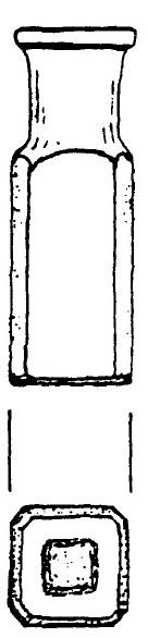 Drawing of Medicine Bottle
